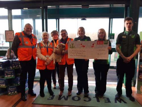 Pets at Home Cheque Presentation on 5th Feb 2020.